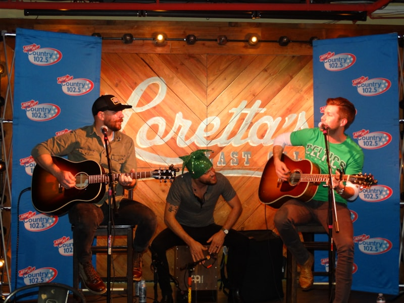 """We brought Studio 102.5 to Loretta's Last Call for St. Patrick's Day this year with Jacob Davis, and what a fun night it was!   See all the highlights from his performance!  And hear his latest single, """"What I Wanna Be"""":   Did we take your picture at the party? Check out…"""