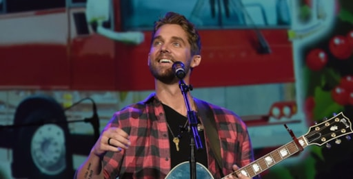 Watch Brett Young Sings Mercy At Grand Ole Opry