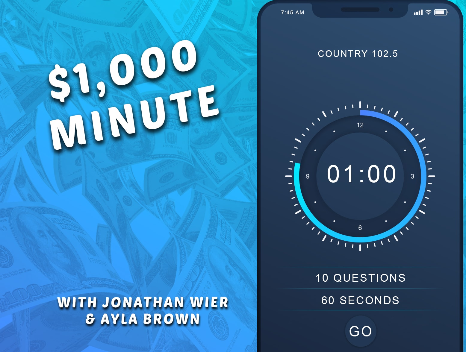 $1,000 Minute