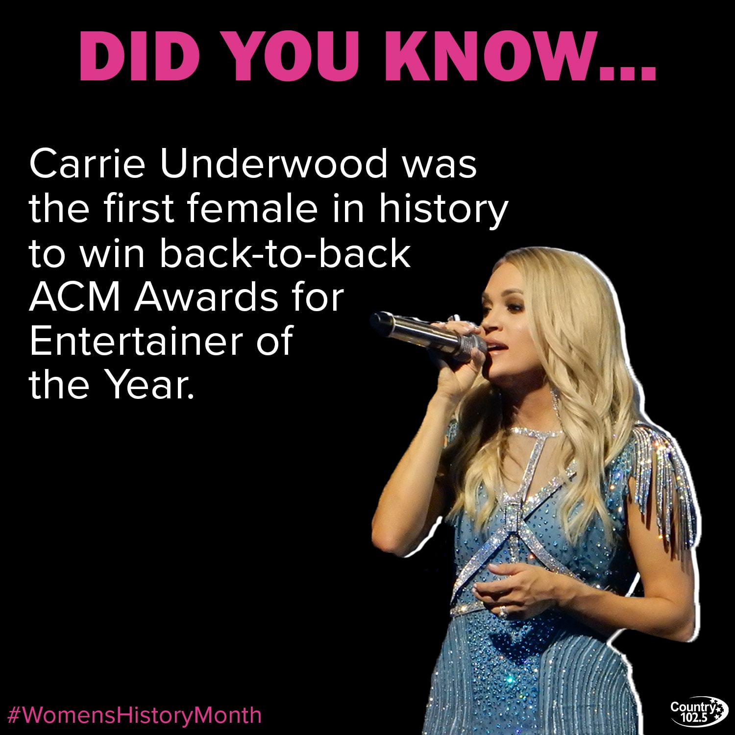 Carrie Underwood Fact