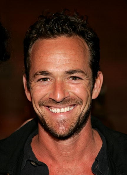 Luke Perry died at the age of 52 following a stroke earlier this year.